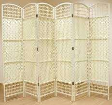Wicker Room Divider Wicker Room Divider Screen 6 Panel Colour Room Dividers Uk
