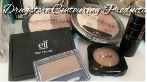 drugstore contour products for fair skin with swatches youtube
