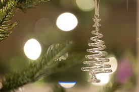 glass tree decorations lights decoration