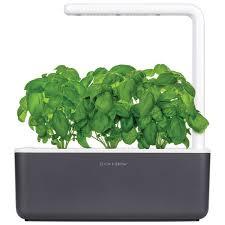 click and grow smart indoor garden sgs8us dark grey smart