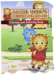 daniel tiger u0027s neighborhood coloring and activity book bendon