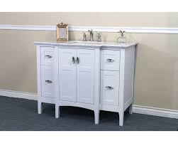 44 in single sink vanity wood white cabinet only 7614 wh corbel