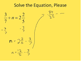 solving fraction equations simplifying math youtube