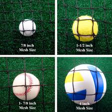 custom barrier u0026 backstop netting what you should know