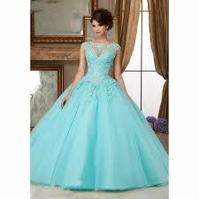 cinderella quinceanera dresses online shop organza lace beaded appliques gown coral