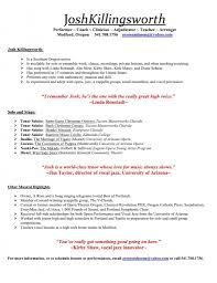 Tutoring Resume Sample What Should A Good Teacher Resume Look Like Virtren Com