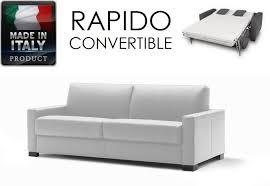 canap lit en cuir canapé lit cuir idées de décoration intérieure decor
