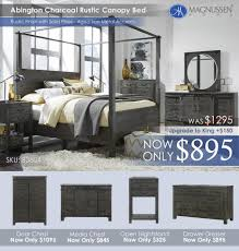 North Shore Canopy King Bed by Bedroom Sets U2013 All American Mattress U0026 Furniture