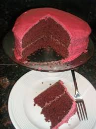 red velvet cake with raspberry frosting trial gluten free dairy