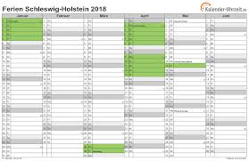Kalender 2018 Hamburg Schulferien Ferien Schleswig Holstein 2018 Ferienkalender Zum Ausdrucken