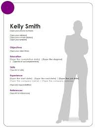 Resume Templates For Openoffice Free 10 Open Office Writer Resume Templates Examples Job And Resume
