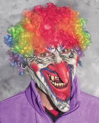 sick o evil clown halloween mask zagone studios
