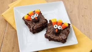 the cutest thanksgiving brownies you ve seen bettycrocker