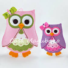 felt owl ornament or embellishment pattern pdf file owl
