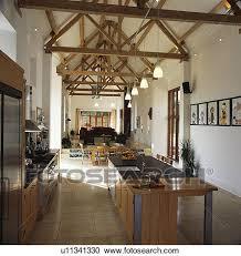cuisine grange banques de photographies moderne cuisine dans grand open plan