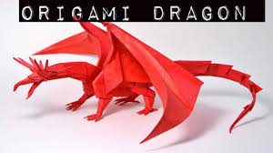how to make origami dragon origami dragon youtube