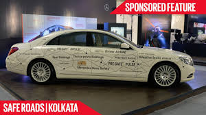 nissan micra price in kolkata driven by safety mercedes benz safe roads kolkata youtube