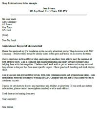 ideas collection sample cover letter for retail work also download