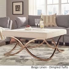 Square Ottoman Coffee Table Living Room Awesome The 25 Best Large Ottoman Coffee Table Ideas