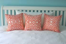 Orange Sofa Throw Interior Orange Square Pillow Colorful Decorative Pillows Best