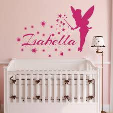 online get cheap princess wall decal aliexpress com alibaba group tinkerbell little princess personalized name wall decal vinyl decals gril name wall sticker for girls nursery