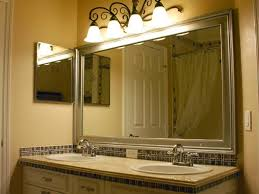 Frame A Bathroom Mirror With Molding by Mirror Molding For Bathroom Mirrors House Exterior And Interior