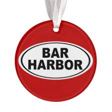 bar harbor maine ornaments keepsake ornaments zazzle