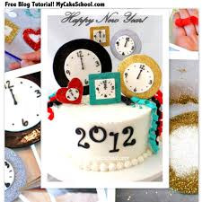 New Years Eve Cake Decorations by Happy New Year Cake Blog Tutorial My Cake