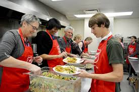 thanksgiving fight plenty of meals being served for thanksgiving in greater victoria