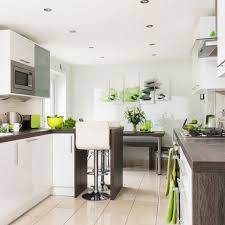 take a look around this sleek kitchen diner with modern vibrant