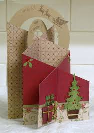christmas tree cascade cards pinterest christmas tree cards