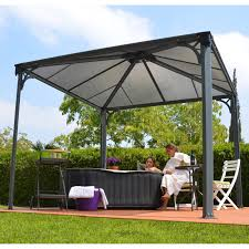 patio furniture gazebo sojag inc portland mural sun shelter outdoor gazebo with net and