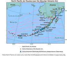 map of aleutian islands aleutian islands
