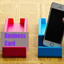Promotional Business Card Holders 2 In 1 Phone Stand Name Card Holder Promotional Smart Phone