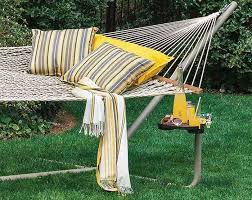Hammock Backyard Yellow And Grey An Unexpected Outdoor Design Combination