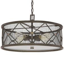 Light Gray Shades by X Cage Urban 4 Light Drum Shade Chandelier Shades Of Light