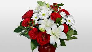 Flowers For Home Decor Flowers For Christmas Xmas Christmas Flower Delivery