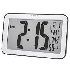Wall Clock Traceable Jumbo Digit Compact Radio Controlled Wall Clock