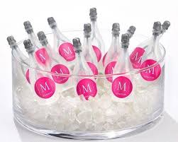 personalized favors details about 120 personalized monogram chagne bottles
