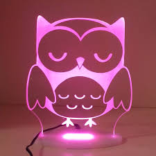 Light Pink Blinds Finding Myself Young Mummy Must Have Owl My Dream Night Light