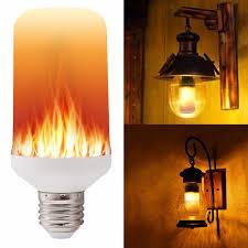 led flame effect fire light bulbs e27 e26 2835 led flame effect fire light bulbs creative lights