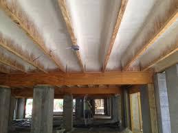 spray foam sound insulation ceiling lader blog