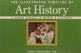 the illustrated timeline of art history a crash course in words
