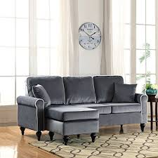 small sectional sofas for small spaces small sectional sofa with chaise amazon com