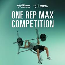algonquin college students u0027 association one rep max competition