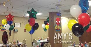 airwalker balloons delivered themed balloon decorations superman spider