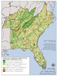 Map Of Northeast Region Of The United States by Southeast Resilience
