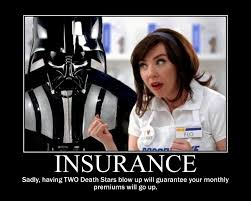 Insurance Meme - star wars darth vader buys insurance from flo you would flickr