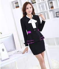 styles of work suites 2018 formal uniform styles slim fashion 2015 autumn and winter