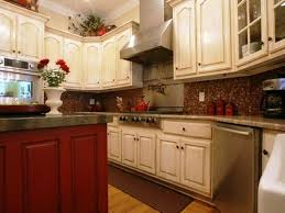 kitchen beautiful cool kitchen cabinet wood colors ideas
